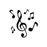 set_de_mini_sello_bloque_transparente_notas_musicales