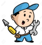 16974792-reparador-de-dibujos-animados-Foto-de-archivo