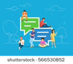 stock-vector-speech-bubbles-for-comment-anf-reply-concept-flat-vector-illustration-of-young-people-using-mobile-566530852