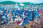 pintura-sobre-la-guerra-contra-la-triple-alianza-del-artista-plastico-fidel-fernandez-expuesta-en-el-rectorado-de-la-une-de-ciudad-del-este-_595_399_1134665