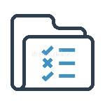 folder-check-list-line-icon-elements-mobile-concept-web-apps-thin-icons-website-design-development-app-premium-pack-104496916