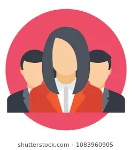 flat-icon-group-work-business-260nw-1083960905