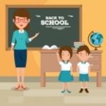 volver-a-la-maestra-de-escuela-ensenando-a-sus-alumnos