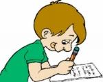 studente-esame scritto