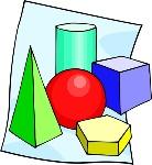 figuras geometricas a color