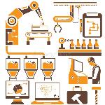 production-line-manufacturing-process-robotic-arm-automation-brown-orange-color-design-40849231