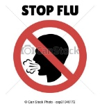 stop-flu-sign-coughing-man-in-image_csp31046172