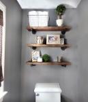 diy-bathroom-shelves-to-increase-your-storage-space-pertaining-shelf-for-decor-6