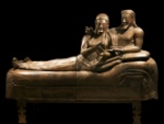 Sarcophagus with reclining couple