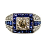 Art-Deco-Ring-Sapphire-Diamond-Platinum-Peter-Suchy