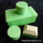 Green-Cream-Bakelite-Jewelry-Boxes