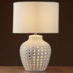 searchlight-white-ceramic-fretwork-2-light-table-lamp-shade-lit-7155WH_002