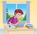teen-boy-using-laptop-computer-homework-cartoon-illustration-teenaged-to-do-school-books-cell-phone-notebook-memo-67854977