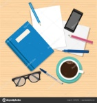 depositphotos_139764750-stock-illustration-notebook-design-vector-top-view