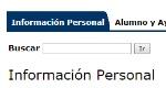 informacion personal