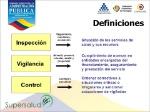 Definiciones+Inspección+Vigilancia+Control+Sistema+de+IVC
