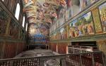 Interior of the Sistine Chapel