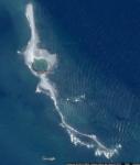 isla lagartija mapa