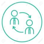55167403-la-rotación-de-personal-icono-de-línea-gruesa-con-esquinas-puntiagudas-y-bordes-para-web-móvil-y-la-infograf