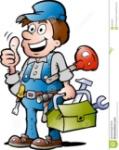 illustration-de-vecteur-d-un-plombier-heureux-28725517