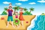 17783966-une-illustration-de-vecteur-d-une-famille-heureuse-aller-à-la-plage-pour-les-vacances