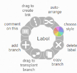Label coggle