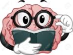 22812340-Ilustraci-n-Mascota-Con-un-cerebro-Llevar-gafas-leyendo-un-libro-Foto-de-archivo