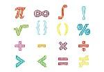 math-symbols-vector