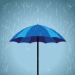 55949859-blue-umbrella-rain-background