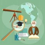 ciencia-de-los-profesores-del-profesor-del-aprendizaje-electrónico-del-concepto-de-la-educación-61545420