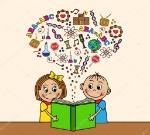 depositphotos_48348557-stock-illustration-cartoon-children-read-a-book