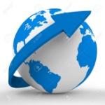 29564969-mundo-flecha-en-representación-del-sistema-solar-y-globalizar
