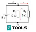 Primera-ley-de-kirchoff-circuito-de-ejemplo