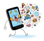 23212211-cartoon-mobile-phone