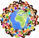 35858836-niños-multicultural-de-dibujos-animados-en-el-planeta-tierra