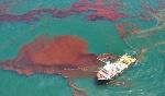 tràn dầu trên biển