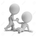 20458955-3-ª-persona-pequeña-ayuda-a-otro-a-ponerse-de-pie-imagen-en-3d-fondo-blanco-