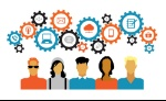 bigstock-Icons-of-people-with-gears-and-86739623