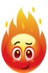 emoticon-fire
