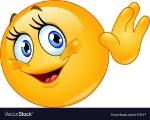 female-emoticon-waving-hello-vector-1479147