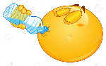 16331870-emoticon-drinking-water-from-a-bottle