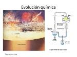 Evolución+química+Experimento+de+Miller+Tierra+primitiva