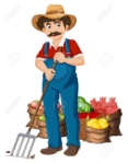 32958492-illustration-of-a-farmer-and-vegetables