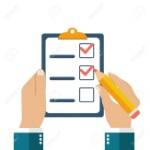 54110038-businessman-holding-checklist-and-pencil-questionnaire-survey-clipboard-task-list-icon-flat-style-ve