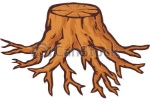old-tree-stump-with-roots-illustration_csp19987229