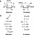 GlucoseFructoseStructure