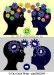 difference-in-parenting-styles-drawing_csp30952949