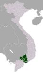VietnamSoutheasternmap