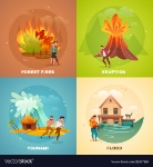 natural-disasters-design-concept-vector-19107269
