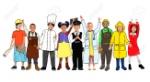 31315982-niños-diversos-con-varios-oficios-concept